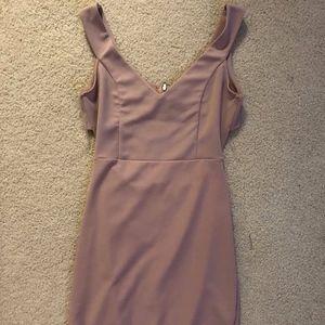 Cocktail Dress Blush Pink